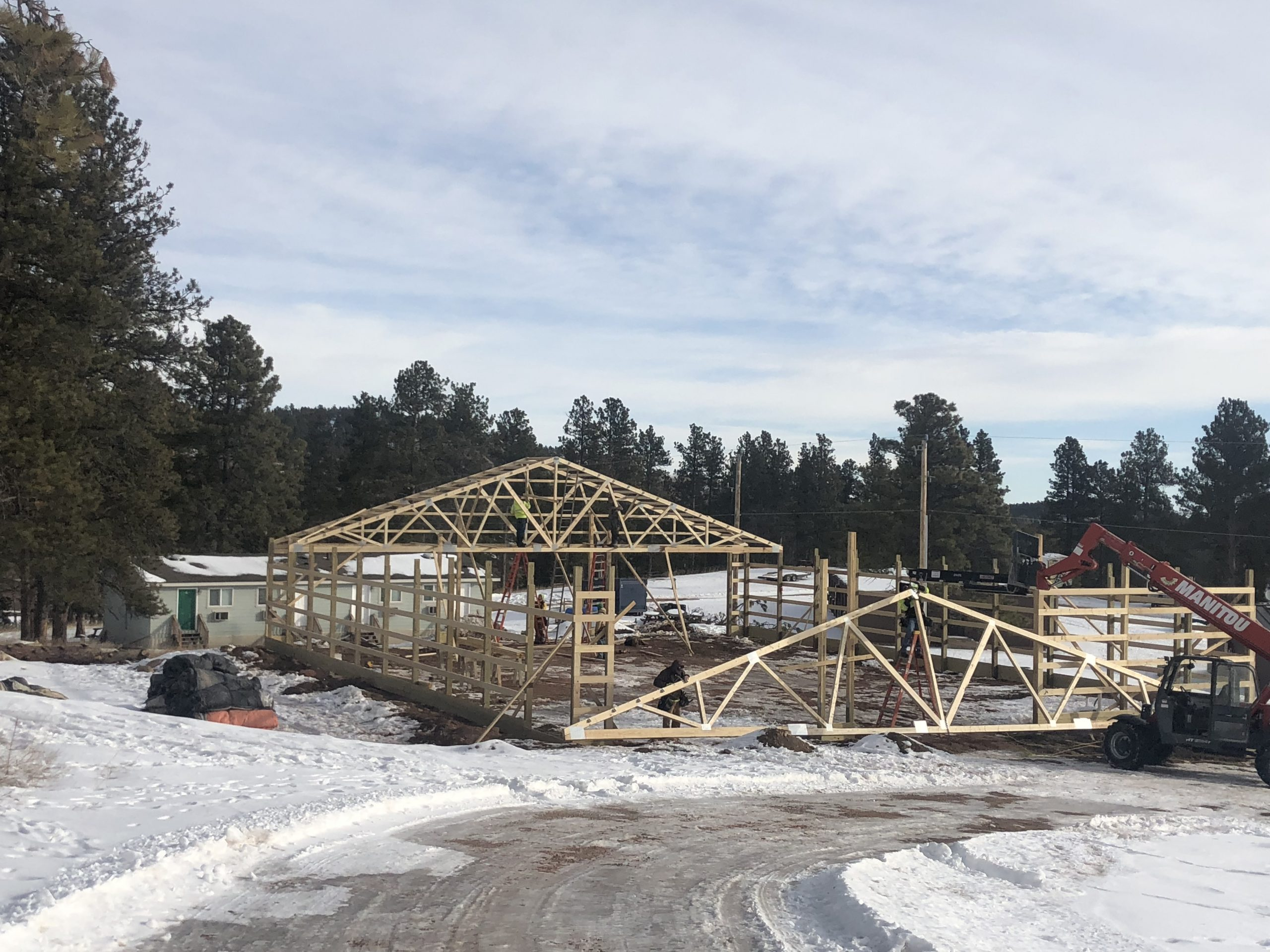 Building for the Black Hills